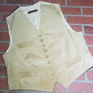 Other - Golden Bear leather Dress Vest